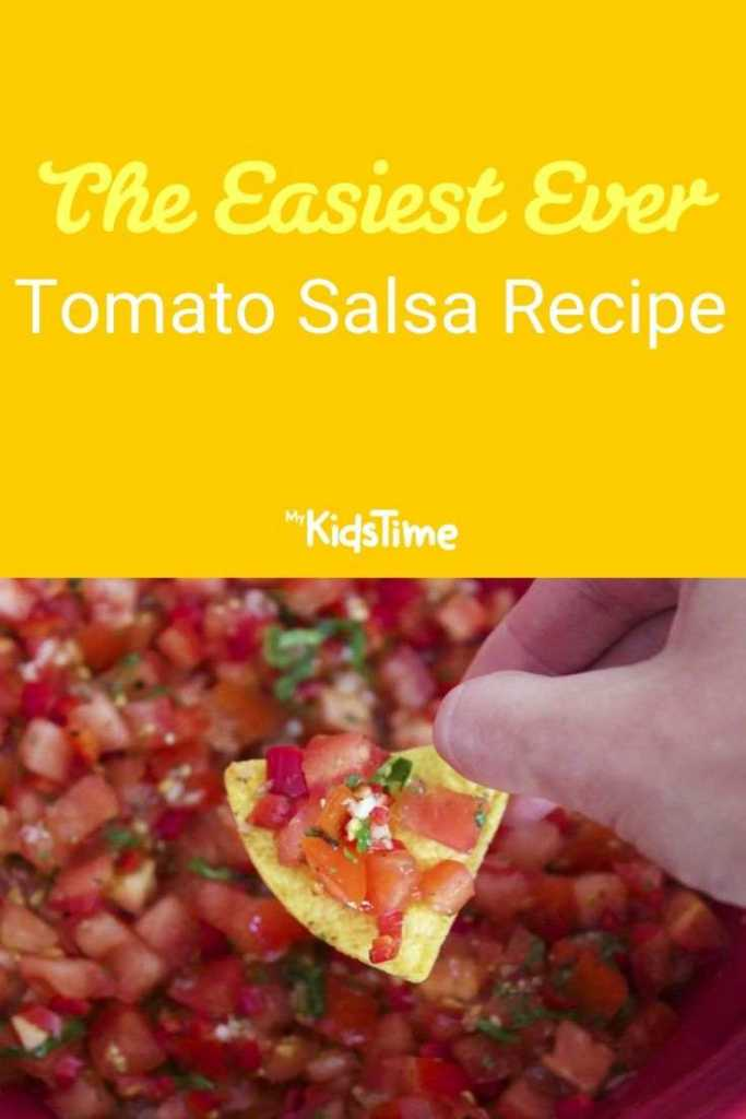 the easiest ever tomato salsa recipe