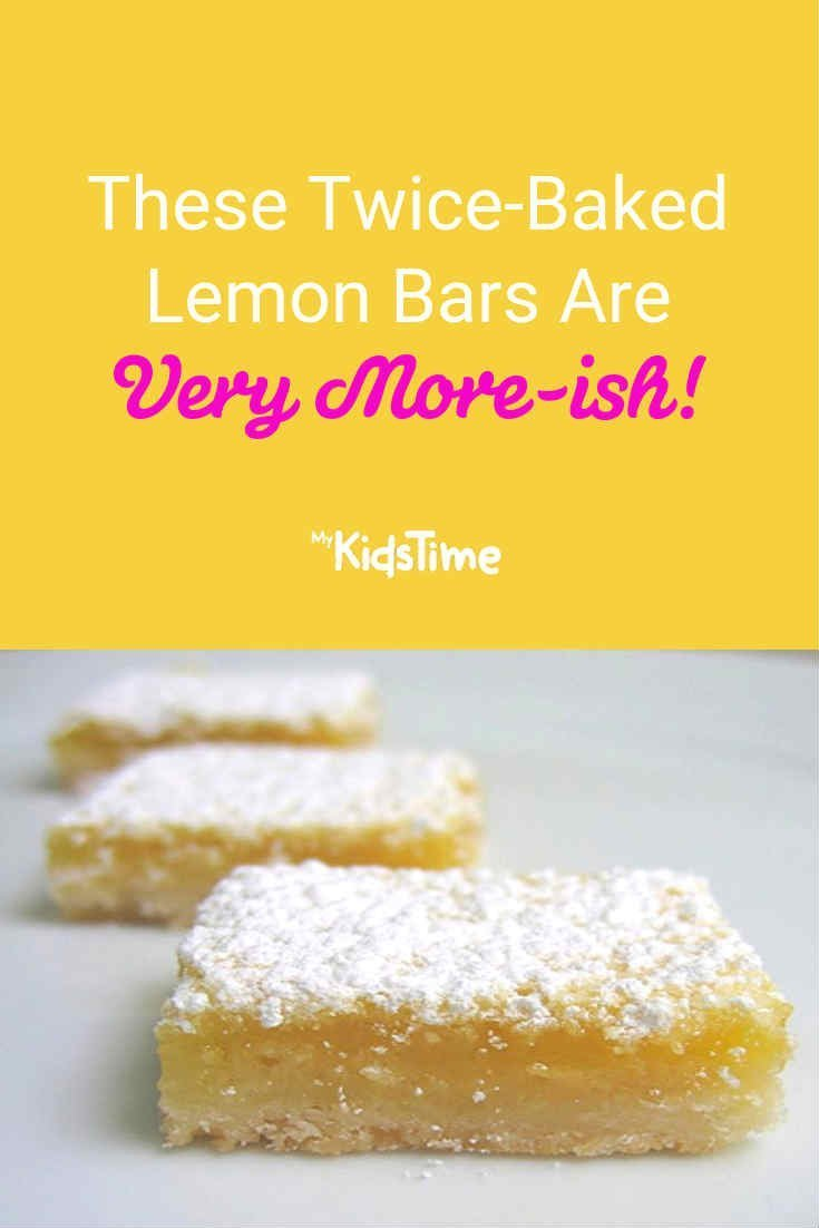 These Twice-Baked Lemon Bars are Very More-ish! - Mykidstime