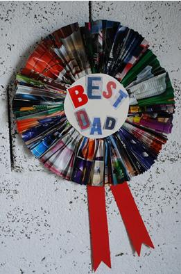 Crafts For Kids Easy Father S Day Rosette