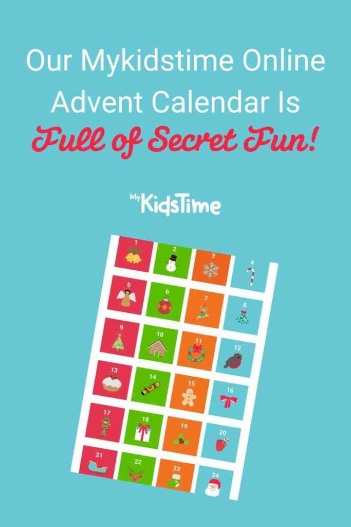 Online Advent Calendar Pinterest