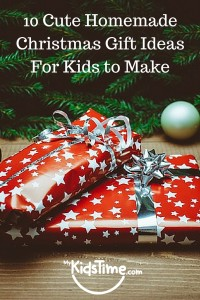10 Cute Homemade Christmas Gift IdeasFor Kids to Make