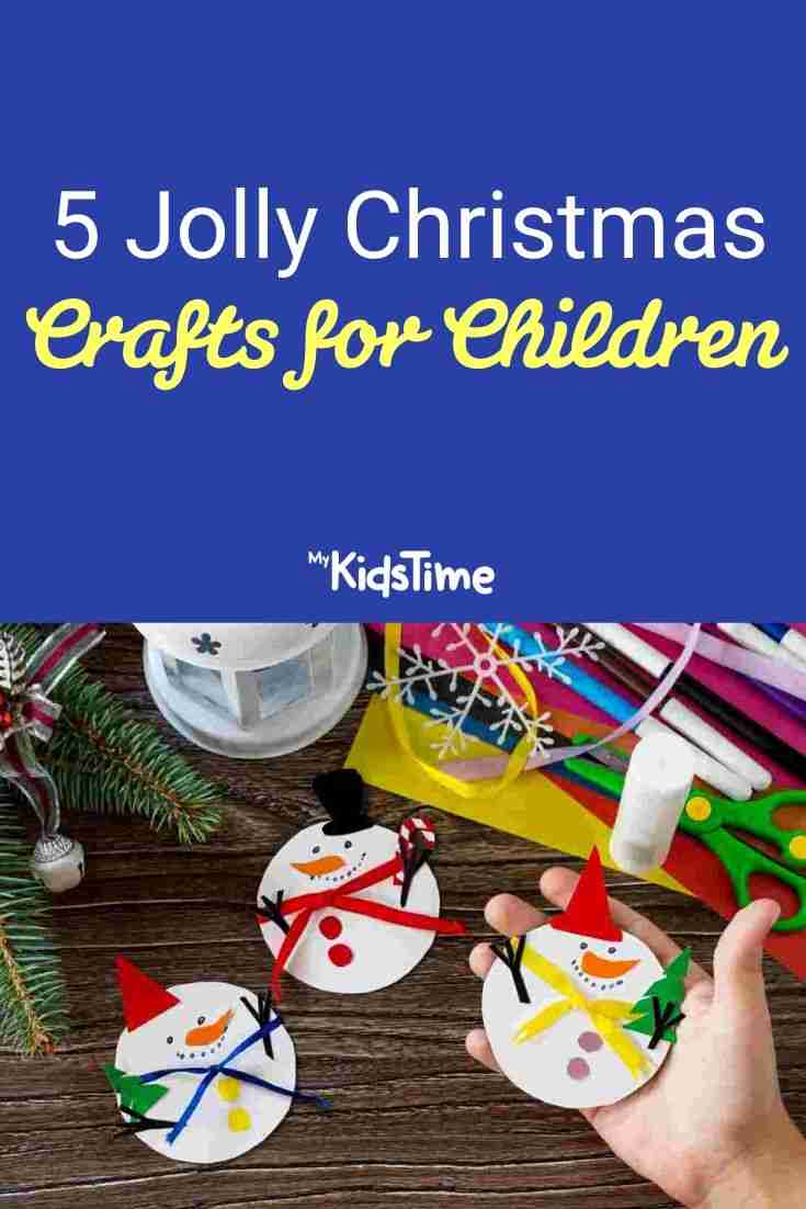 5 Jolly Christmas Crafts for Children