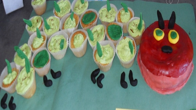 Cakes Katherines Hungry Caterpillar