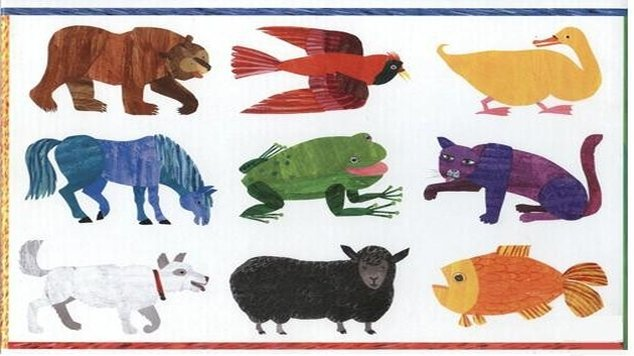 picture about Brown Bear Brown Bear What Do You See Printable Book called Eric Carle