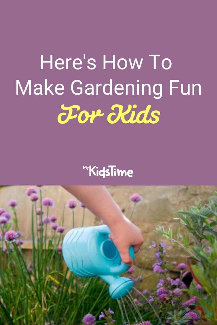 Here's How To Make Gardening Fun For Kids