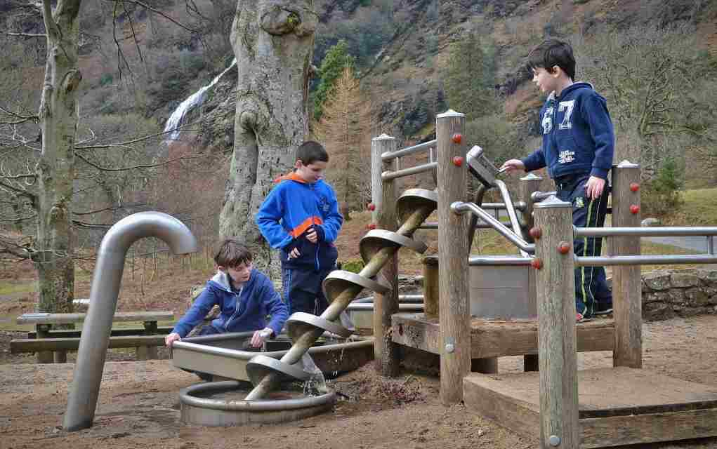 Powerscourt Waterfall Playground