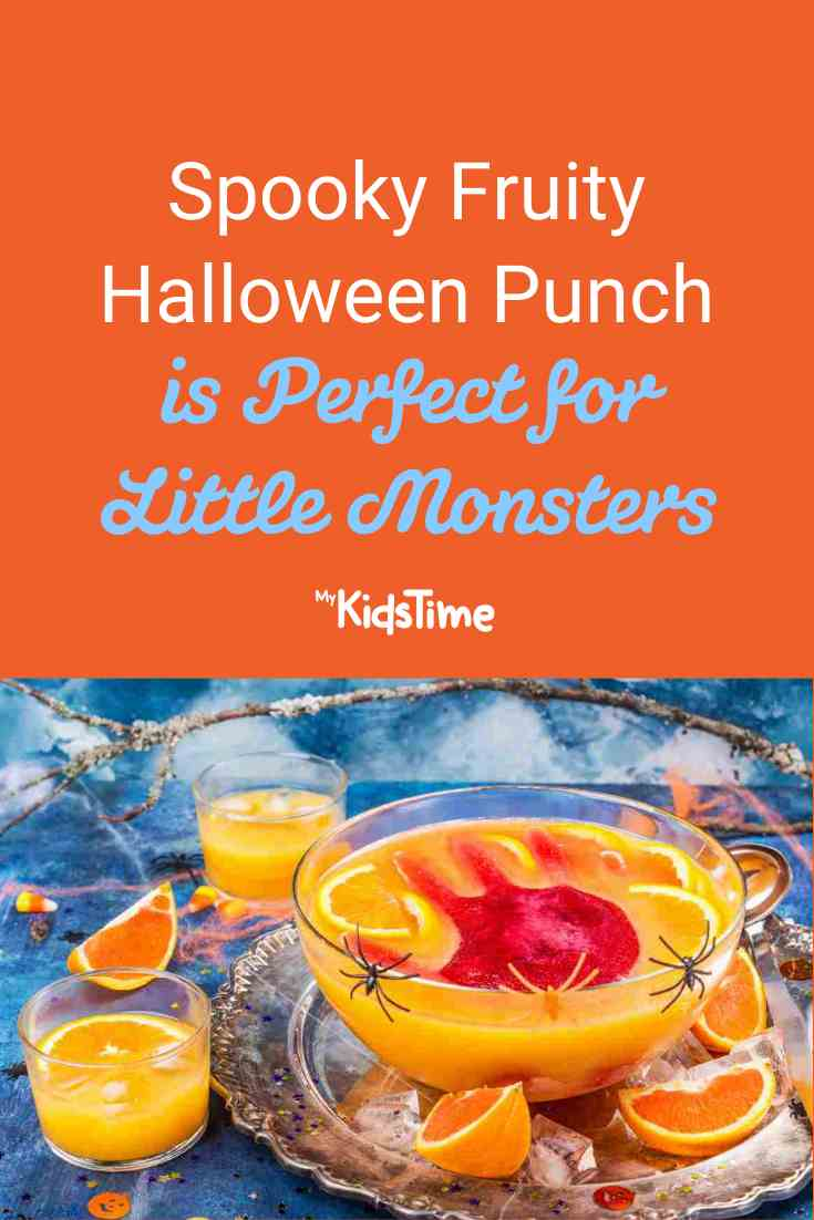 Spooky Fruity Halloween Punch is Perfect for Little Monsters - Mykidstime
