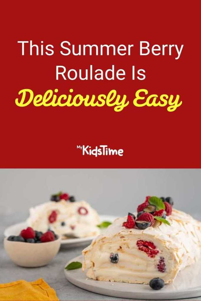This Summer Berry Roulade Is Deliciously Easy