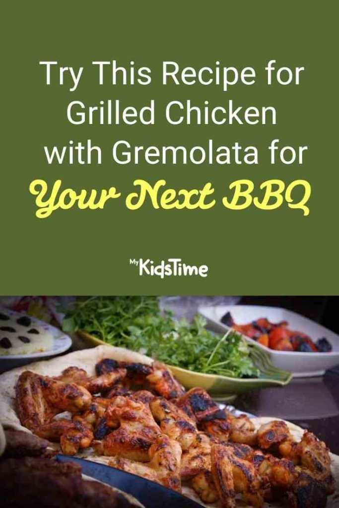 Try This Recipe for Grilled Chicken with Gremolata for Your Next BBQ