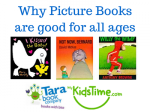 Why Picture Books are good for all ages