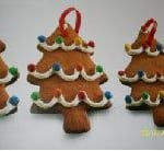 Chocolate Christmas Tree Edible Decorations