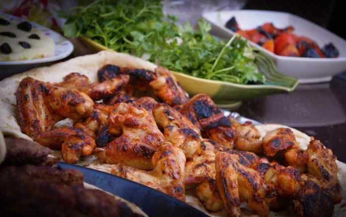 grilled chicken with gremolata