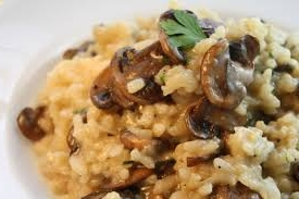 family dinner ideas Mushroom Risotto