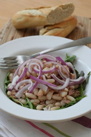 lunch box ideas White Bean Salad