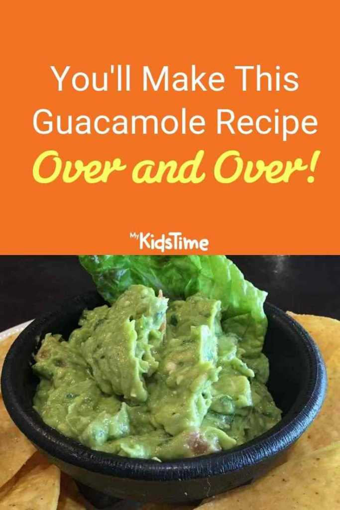 you'll make this guacamole recipe over and over