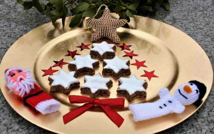 mincemeat and almond shortbread