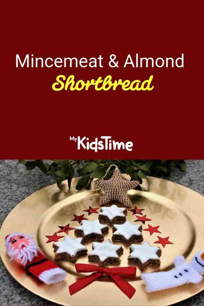 mincemeat and almond shortbread pinterest