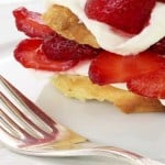 Easy Snack Ideas Strawberry with Mascarpone