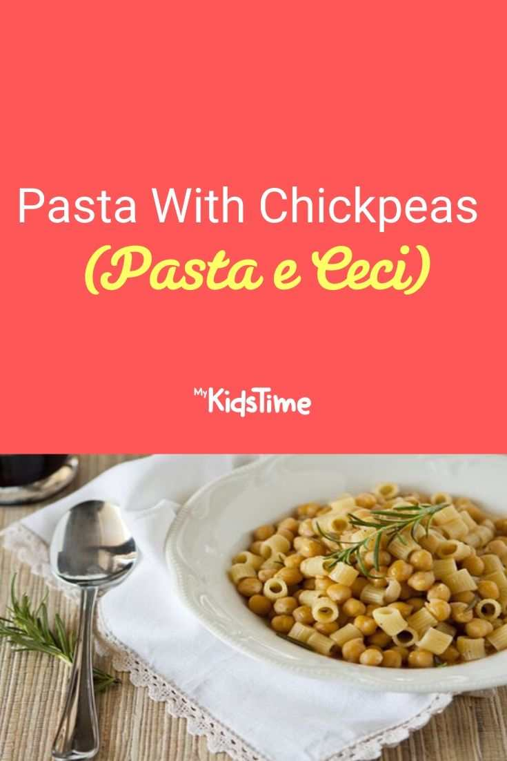Pasta With Chickpeas (Pasta e Ceci)