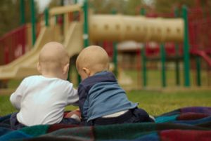 Two Twins at the Park