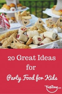 20 great ideas for party food for kids pinterest