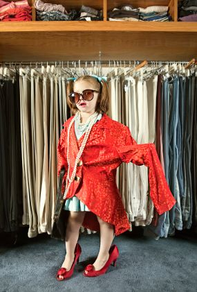 Image result for playing dress up in mom's closet