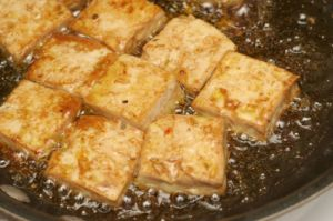 frying-tofu