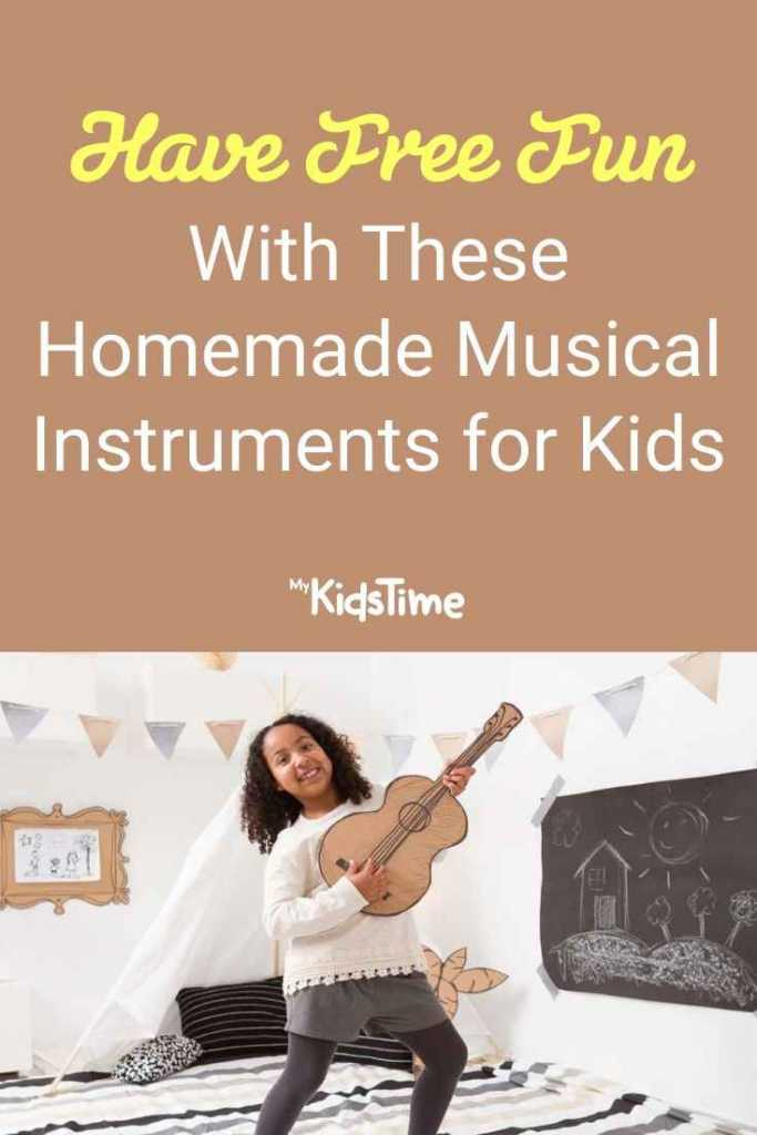 Have Free Fun With These Homemade Musical Instruments for Kids