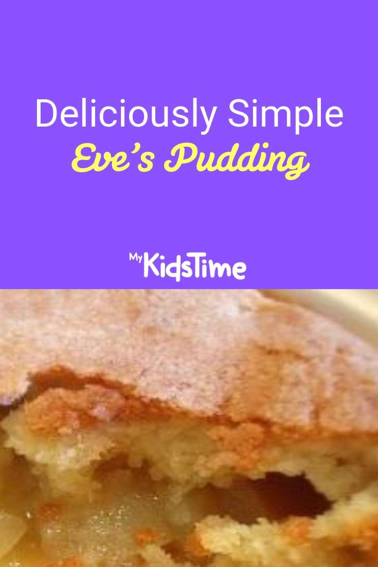 deliciously simple eves pudding