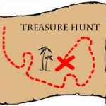 Indoor Games for Kids Treasure Hunt
