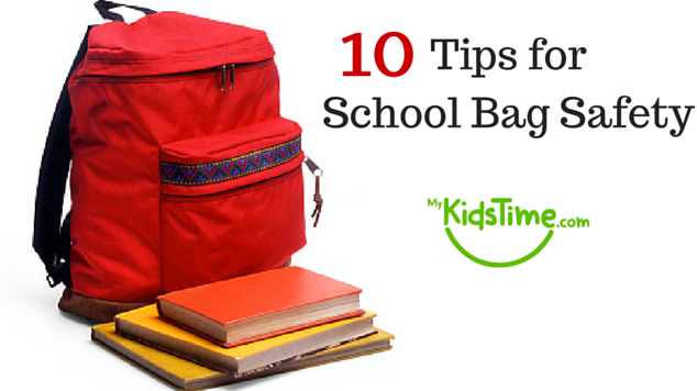 10 Tips for School Bag Safety