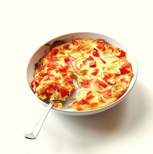 Breakfast Recipes with Eggs Baked Omelette