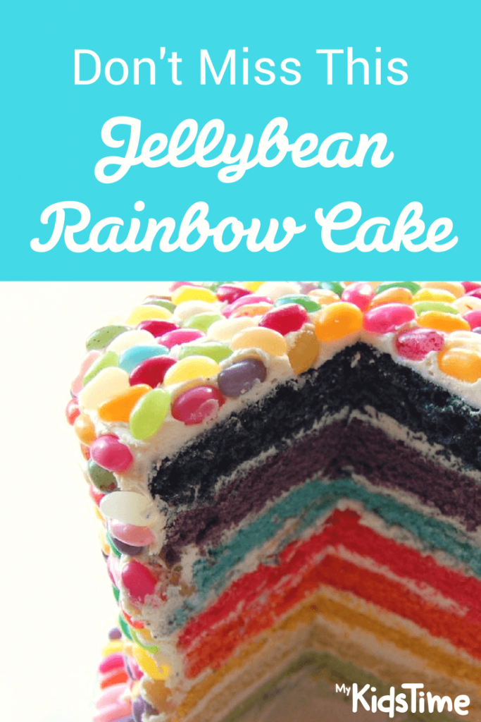 jellybean rainbow cake recipe