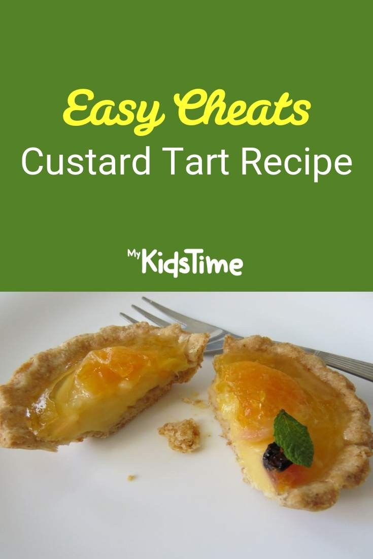 easy cheats custard tart recipe