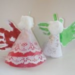 Homemade Christmas Ornaments for Kids angel