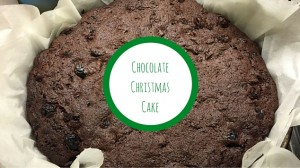 Christmas Recipes chocolate christmas cake