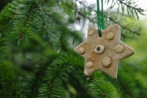 Christmas Craft Ideas Saltdough christmas tree decoration