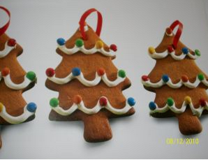 Christmas Recipes edible christmas tree decorations