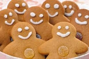 Christmas Recipes gingerbread men