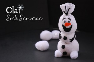 Christmas Craft Ideas olaf-sock-snowman-2