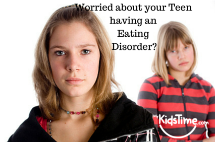 Worried about your Teen having an Eating