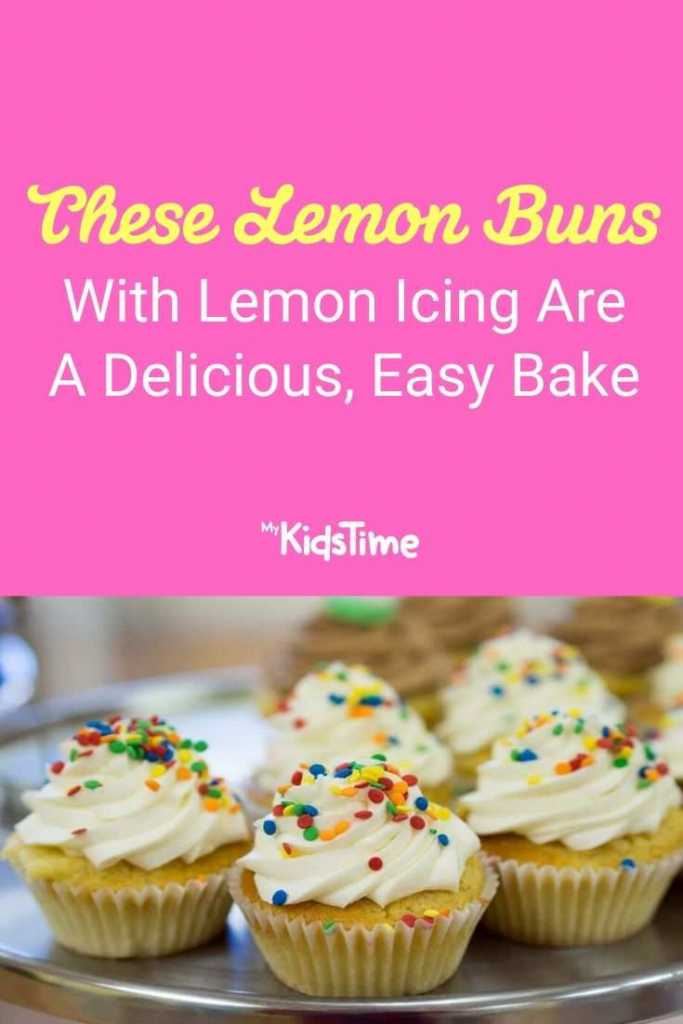 These Lemon Buns With Lemon Icing Are A Delicious, Easy Bake