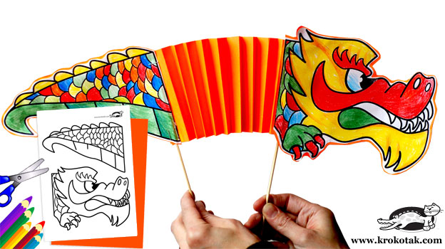 make a chinese dragon - Chinese New Year Activities