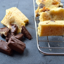 Recipes for Kids Chocolate bar blondie