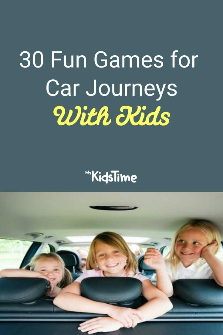 30 Fun Games for Car Journeys With Kids