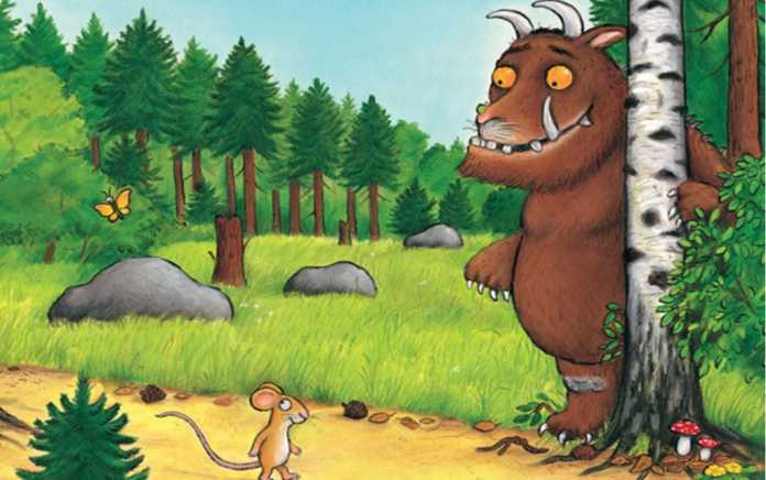 julia donaldson books the gruffalo
