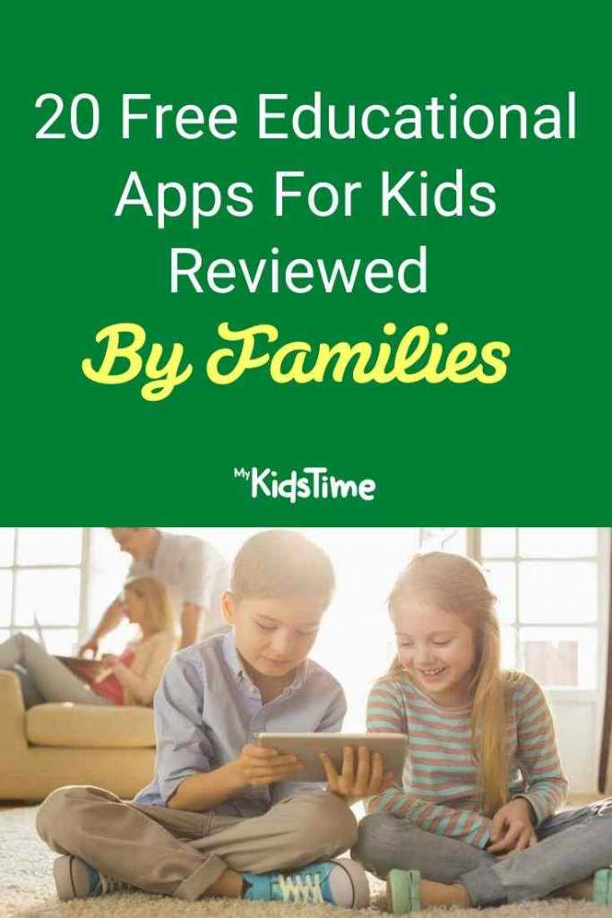 20 Free Educational Apps For Kids Reviewed By Families
