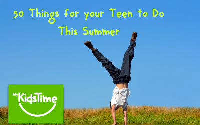 50 things for your teen
