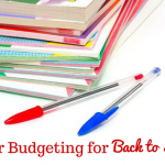 Tips for Budgeting for Back to School