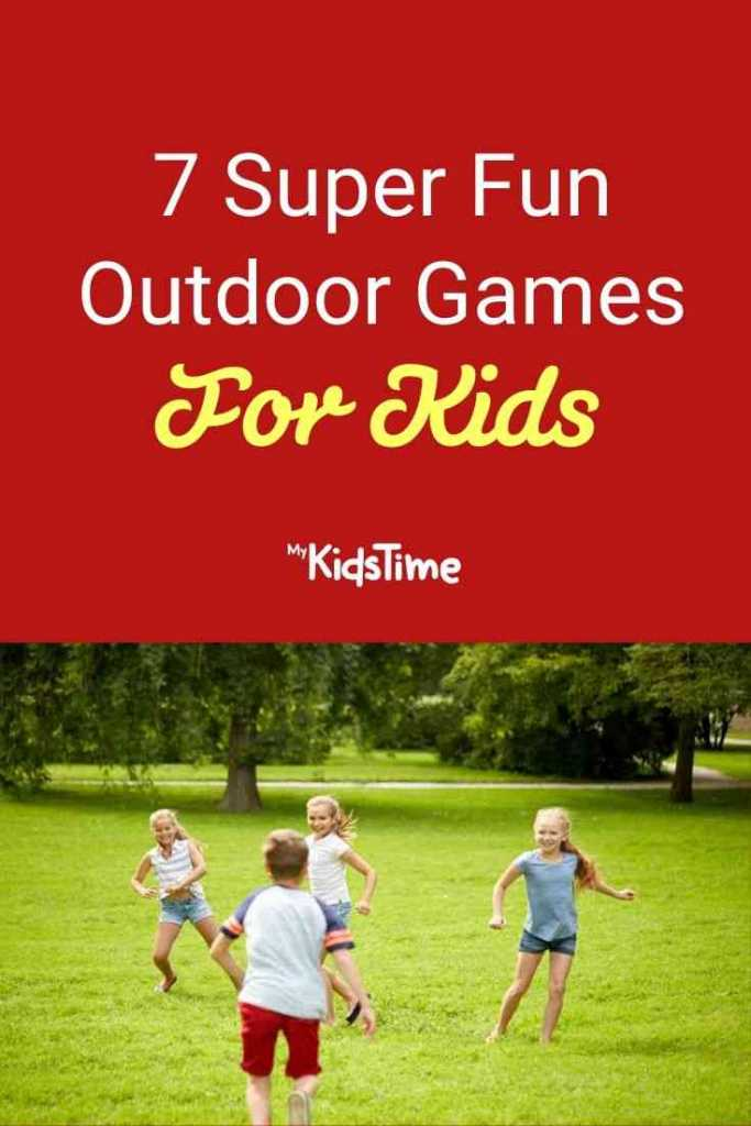 7 Super Fun Outdoor Games For Kids
